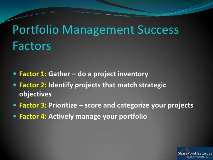 real success factors on project Variable which measure project success success factors are those inputs to the management system that lead directly or.