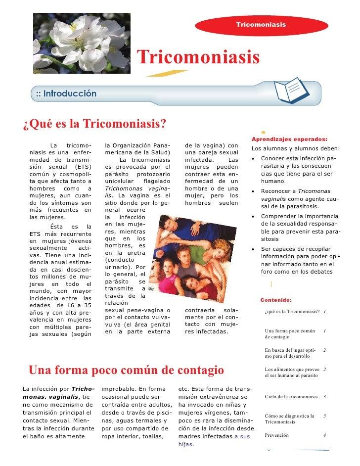 Tricomoniasis                                             Tricomoniasis   ¿Qué es la Tricomoniasis?                       ...