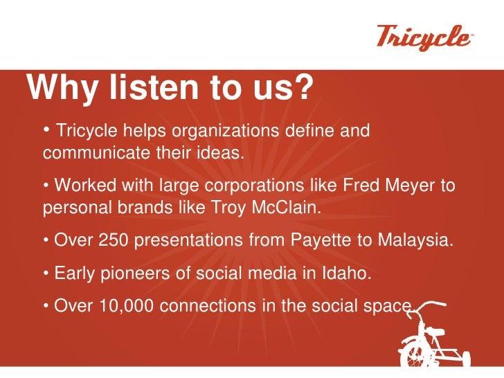 Tricycle   4 Cs Of Social Media Slide 2