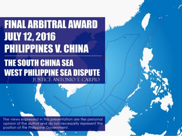 1.  China's Claim to Historic Rights under the Nine-Dashed Lines 2.  Status of Geologic Features in Spratlys to Generate 2...