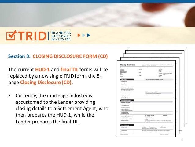 closing disclosure form excel