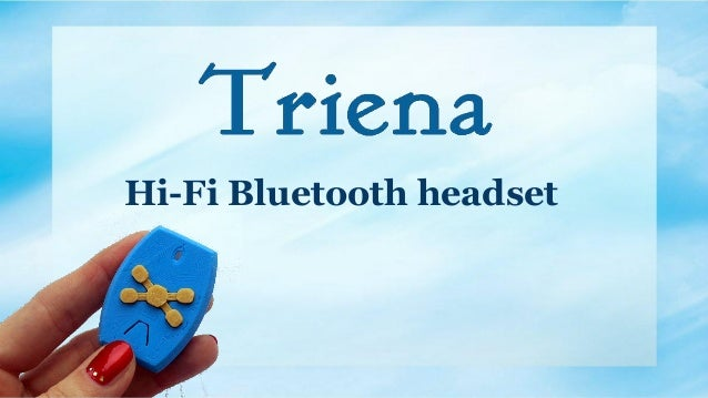 Hi-Fi Bluetooth headset
