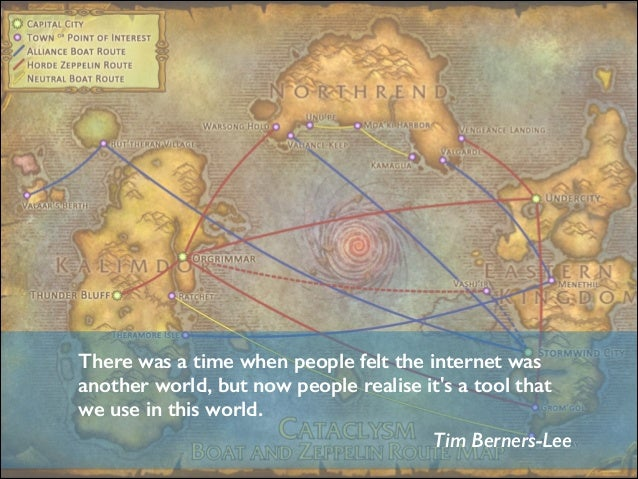 There was a time when people felt the internet was another world, but now people realise it's a tool that we use in this w...