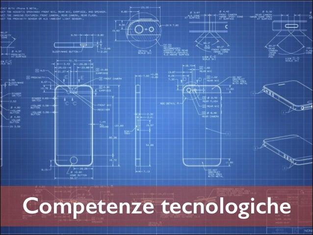 Competenze tecnologiche
