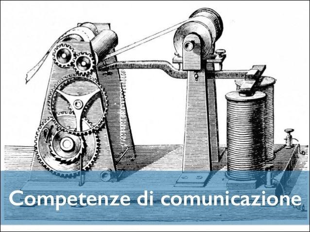 Competenze di comunicazione