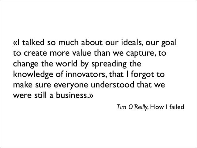 «There's not a single business model, and there's not a single type of electronic content.   There are really a lot of op...