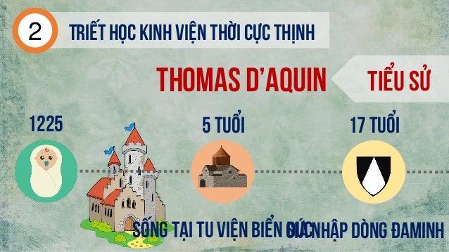 Thomas d'aquin Tiểu sử 1225 Sống tại tu viện biển đứcGia nhập dòng đaminh Triếthọc kinh viện thời cực thịnh2 5 tuổi 17 tuổi