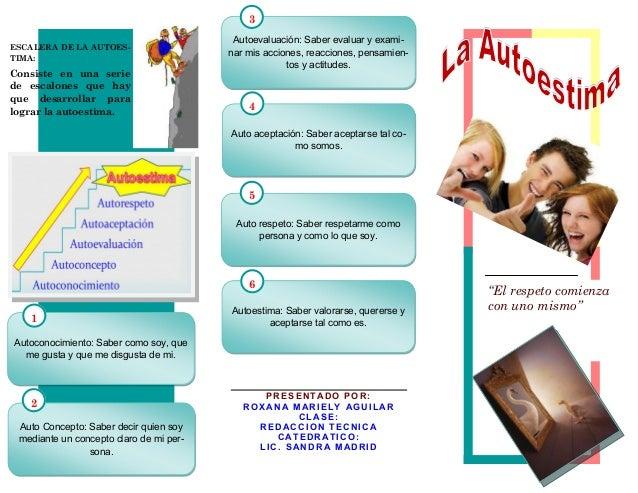 3                                          Autoevaluación: Saber evaluar y exami-ESCALERA DE LA AUTOES-                   ...