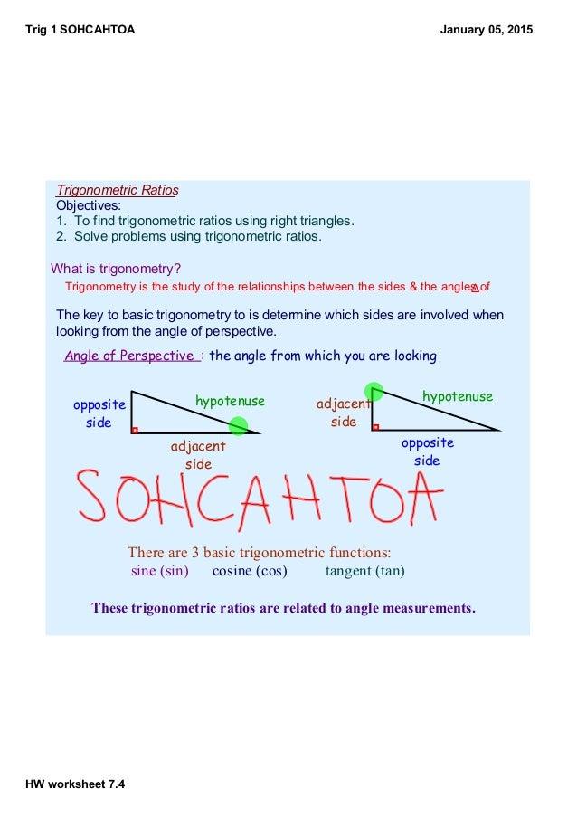 Trig 1 Part 1 Notes
