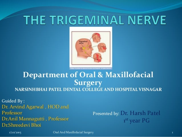 Department of Oral & Maxillofacial Surgery NARSINHBHAI PATEL DENTAL COLLEGE AND HOSPITAL VISNAGAR Guided By : Dr. Arvind A...