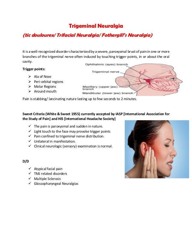 Facial pain multiple