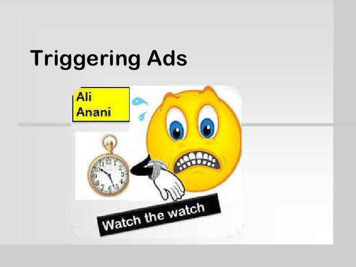 Triggering Ads