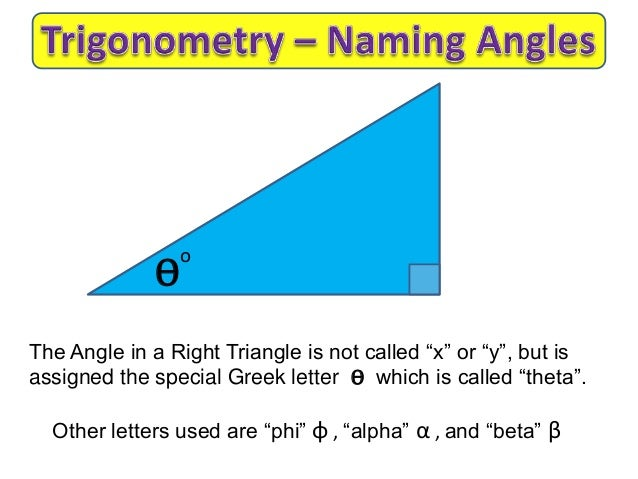 triangular greek letter labeling trigonometry triangles 42179