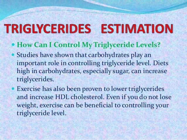 what to do to lower triglycerides