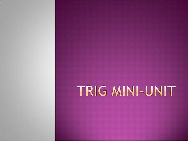 Trigonometric  ratios are used with right triangles to solve for missing angles and/or sides.The 3 main trig ratios are:...