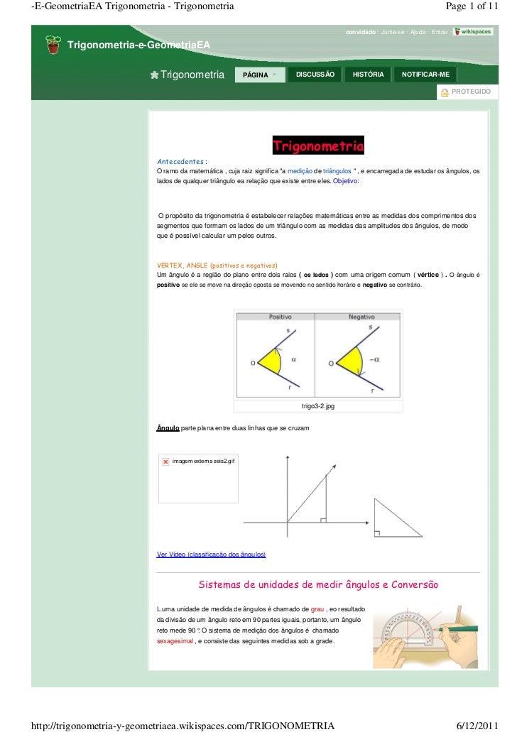 -E-GeometriaEA Trigonometria - Trigonometria                                                                              ...