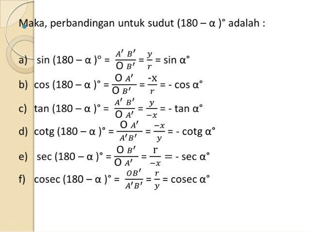 Trigonometric Hayati Pravita