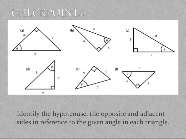 Trigonometry Introduction For Geometry Students