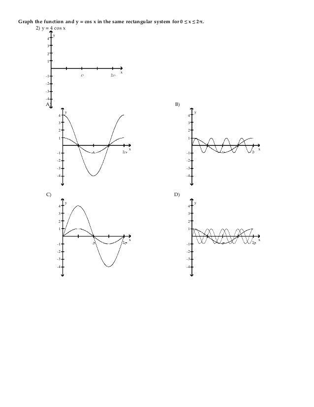 Trigonometry 2nd edition blitzer test bank