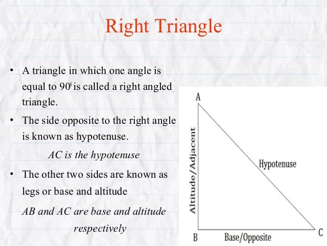 Trigonometry Presentation For Class 10 Students