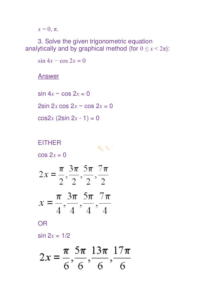 Trigonometry for class xi