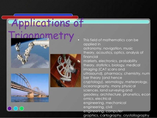 Application of mathematics in construction.