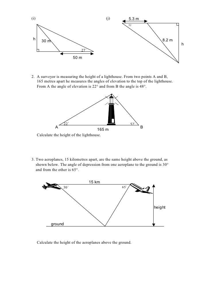 Trigonometry problems