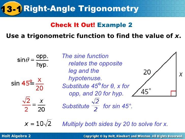 trig right triangle trig. Black Bedroom Furniture Sets. Home Design Ideas