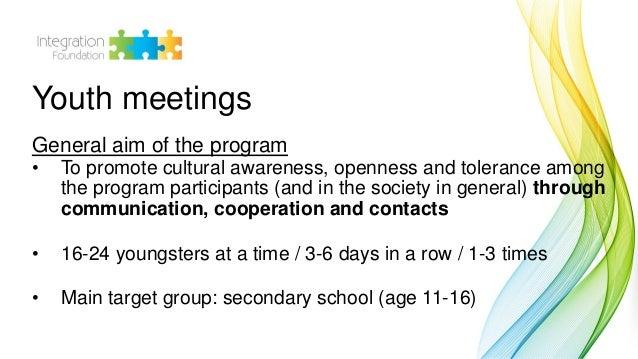 """Triin Ulla: Program """"Youth meetings"""" Slide 3"""