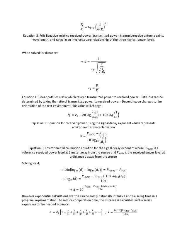 Trilateration Calculation Program for Location Tracking System