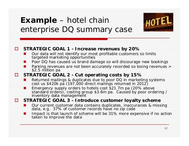 Trillium software building the business case for data quality example hotel chainenterprise wajeb Choice Image
