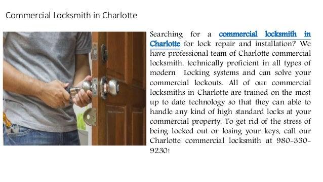 Locksmith Services Charlotte Nc Locksmith Charlotte Nc