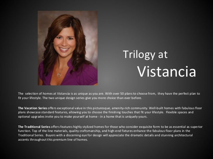 Trilogy at                                                                                   VistanciaThe selection of hom...