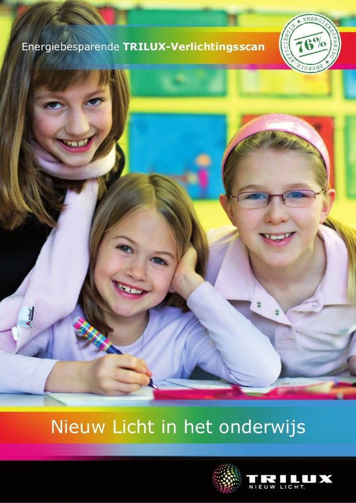 Energiebesparende TRILUX-Verlichtingsscan    Nieuw Licht in het onderwijs