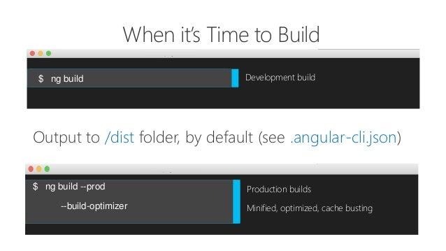 Optimizing and Deploying Angular
