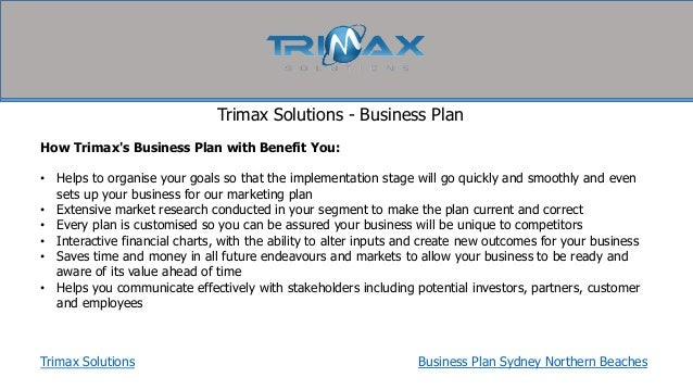 Business plan solutions