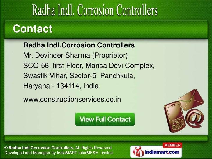 Trimix Flooring Services : Trimix flooring machine by radha indl rrosion