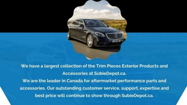Trim Pieces Exterior Products and Accessories at SubieDepot Slide 2
