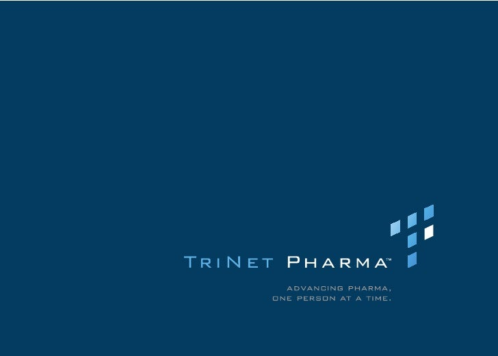 what we do TriNet Pharma is an equitable talent sourcing company that provides both permanent and contract  solutions as w...
