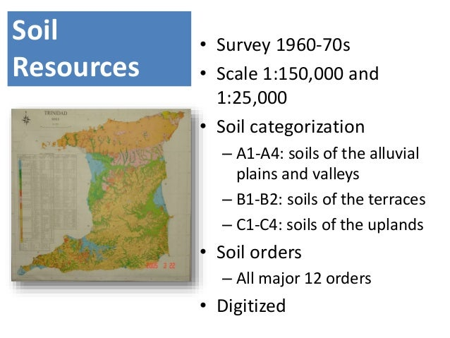 Soil resources degradation conservation and management for About soil resources