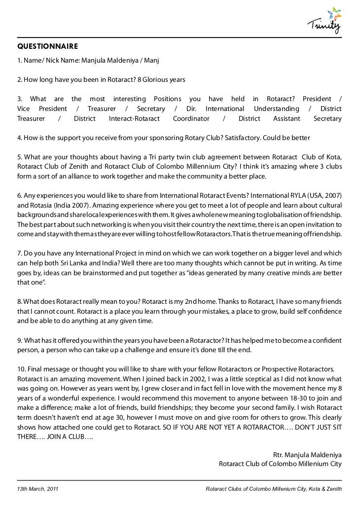 Trinity A Joint E Bulletin Of Tri Party Twin Club Agreement Between