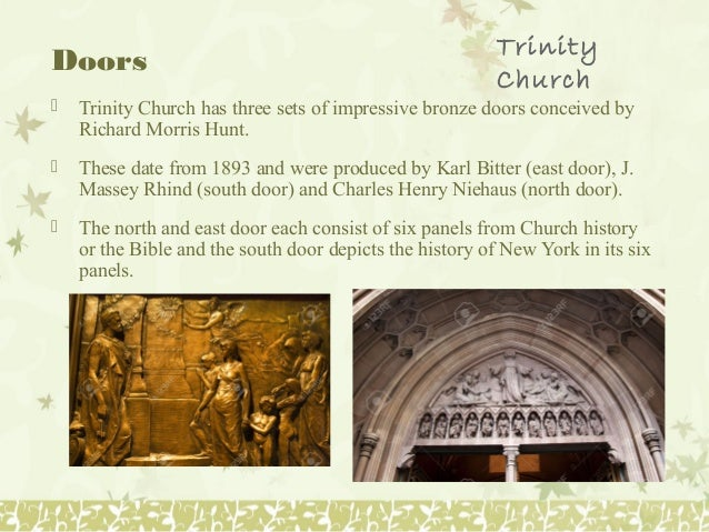 Doors ? Trinity ... & Trinity church