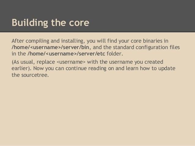 TrinityCore server install guide