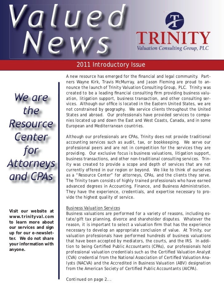 2011 Introductory Issue                        A new resource has emerged for the financial and legal community. Part-     ...
