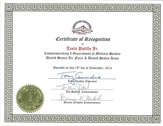 Trinity Kings World Leadership: Receives Certificate of Recognition f…