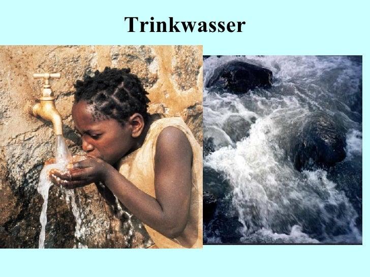 Umweltmedizin: Trinkwasser