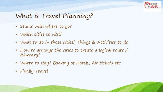Trip Planning Guide >> Trip Planning Guide How To Plan A Travel