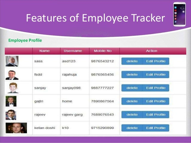 Employee Profile. Customized Employee Profile Preview Company