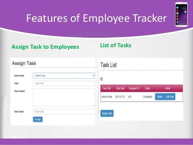 Employee Tracker Solution – Employee Task List