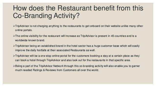 Tripadvisor Restaurant Co Branding Training Presentation
